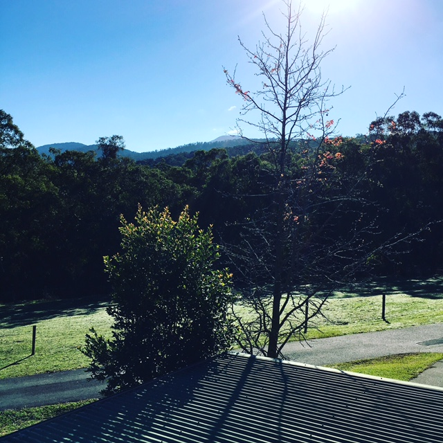 Escape to great Yarra Valley views.